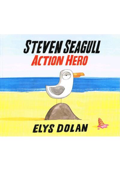 Steven Seagull Action Hero Cover