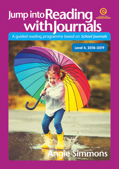 Jump into Reading with Journals L4, 2018-19 Cover
