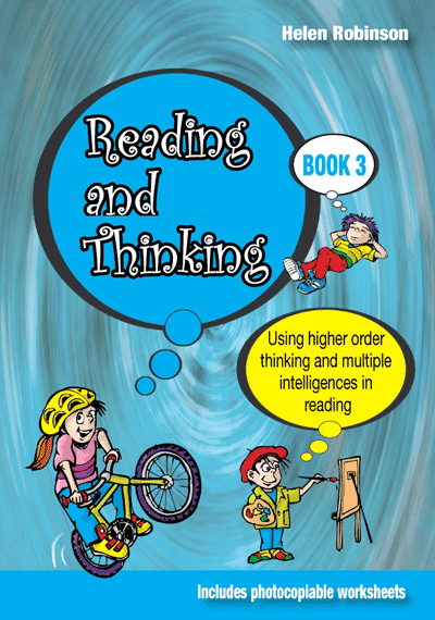 Reading, Thinking: Book 3 Cover