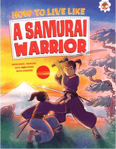 How to Live Like - Samurai Warrior Cover