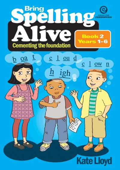 Bring Spelling Alive Bk 2 Yrs 1-6 Cover