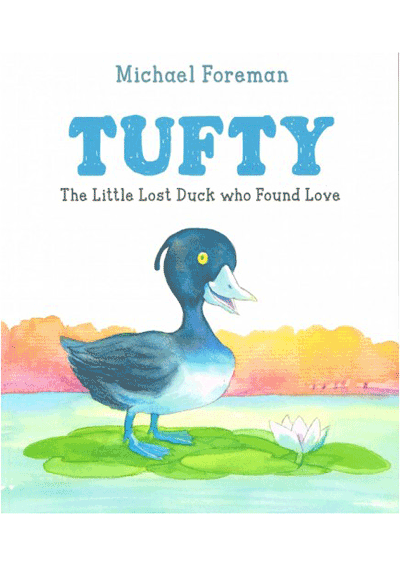 Tufty The Little Duck who Found Love Cover