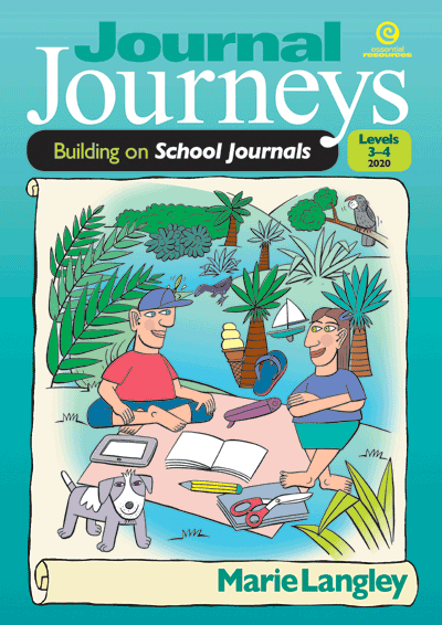 Journal Journeys, Levels 3-4, 2020 Cover
