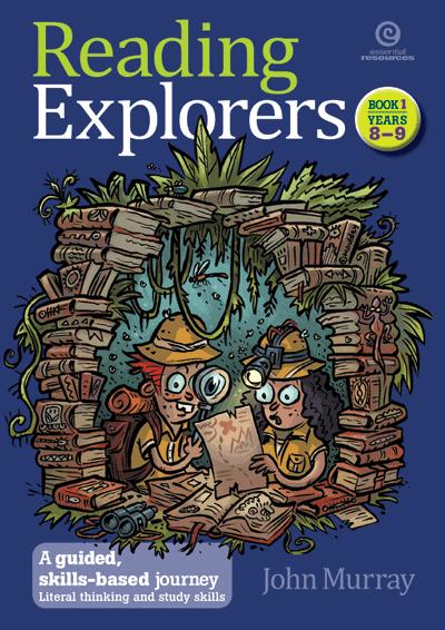 Reading Explorers Bk 1 Yrs 8-9 Cover