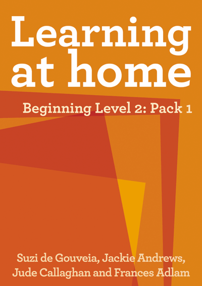 Learning at Home – Beginning Level 2: Pack 1 Cover