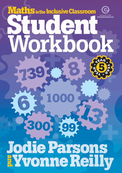 Maths in the Inclusive Classroom Workbook Yr 5 Cover