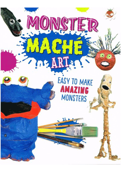 Wild Art - Monster Mache Art Cover