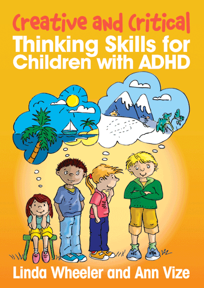 Critical and Creative Thinking Skills for Children with ADHD Cover