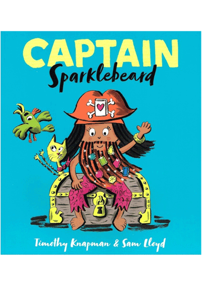 Captain Sparklebeard Cover