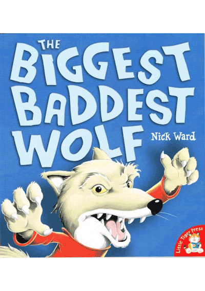 The Biggest Baddest Wolf Cover