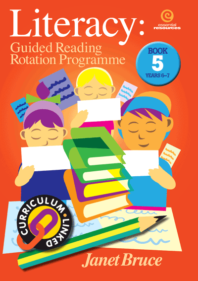 Literacy: Guided Reading Rotation Programme Bk 5 Cover