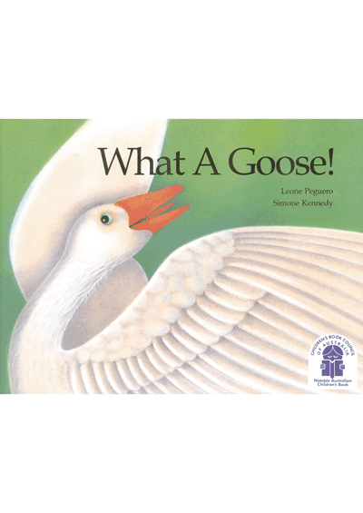 What a Goose! (pb) Cover