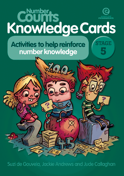 Number Counts Knowledge Cards Stage 5 Cover