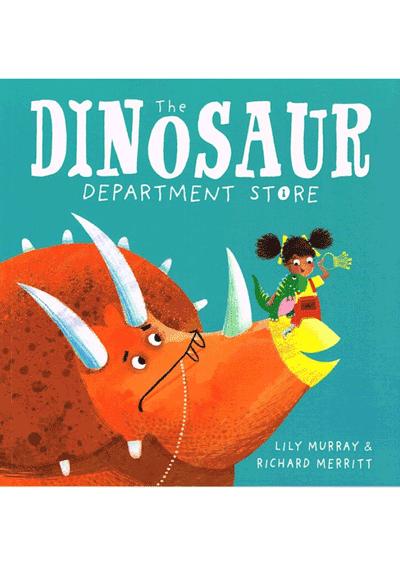 Dinosaur Dept Store Cover