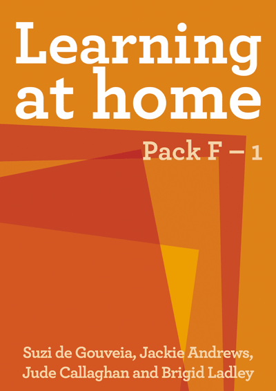 Learning at Home: Pack F – 1 Cover
