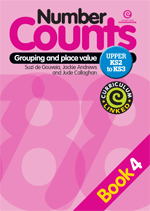 Number Counts: Grouping and place value  (Upper KS2-3) Bk 4
