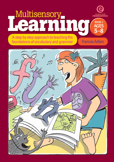 Multisensory Learning Bk 4: Vocabulary and grammar Cover