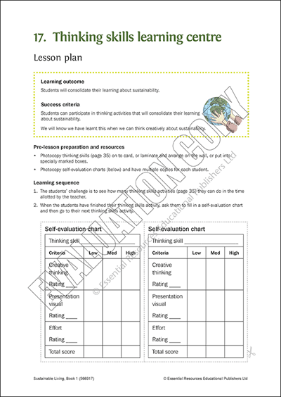 Thinking skills learning centre Cover