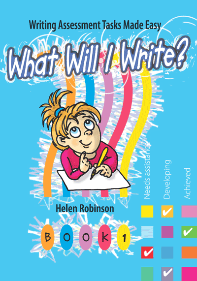 What Will I Write? Book 1 Cover