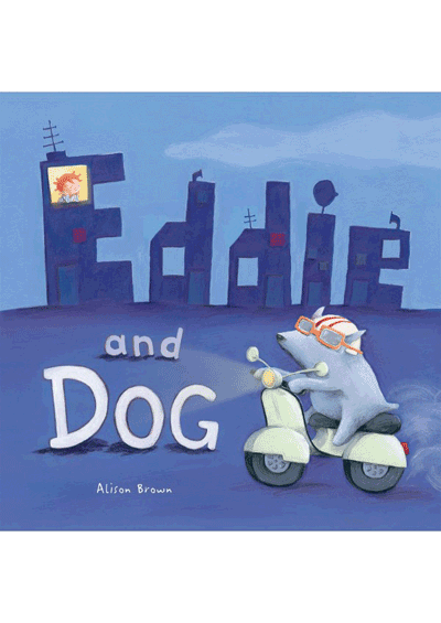 Eddie and Dog Cover