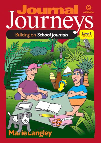 Journal Journeys, Level 3, 2010–2011 Cover
