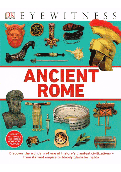 DK Eyewitness - Ancient Rome Cover