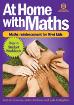 At Home with Maths - Reinforcement for Kiwi kids (Stg 4)