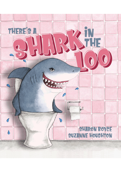 There's a Shark in the Loo Cover