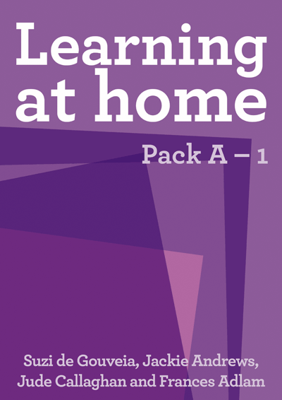 Learning at Home: Pack A – 1 Cover