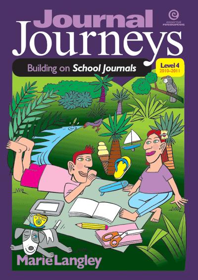 Journal Journeys, Level 4, 2010–2011 Cover