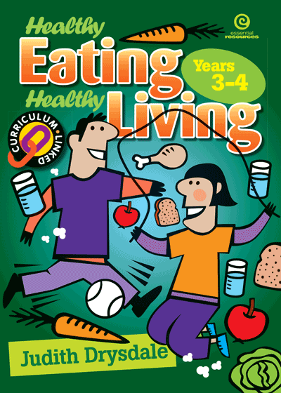 Healthy Eating, Healthy Living Bk 2 Cover