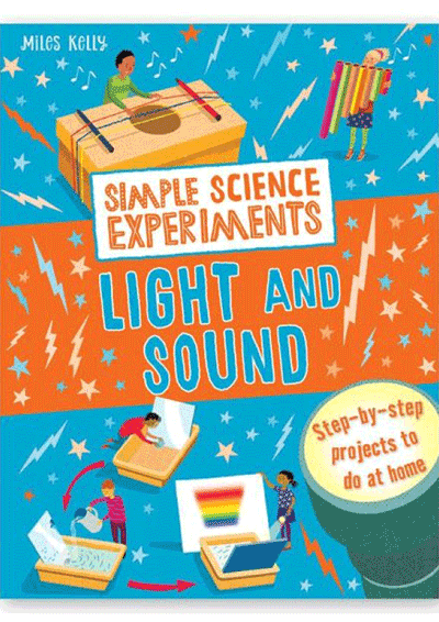 Simple Science Experiments - Light & Sound Cover