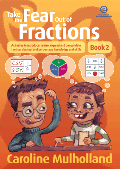 Take the Fear Out of Fractions - Book 2 Cover