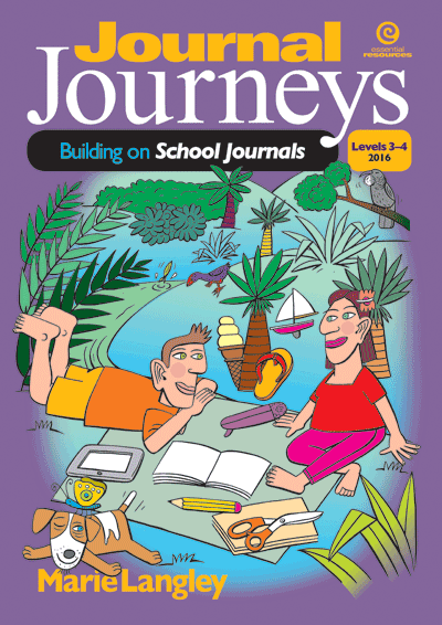 Journal Journeys, Levels 3-4 Cover