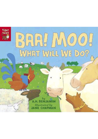 BAA! MOO! What will We do? Cover