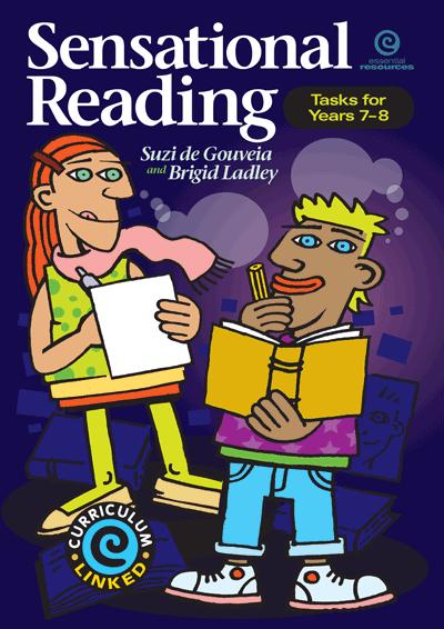 Sensational Reading - Tasks for Yrs 7-8 Cover