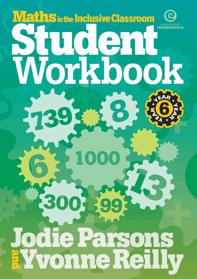 Maths in the Inclusive Classroom Workbook Yr 6 Cover