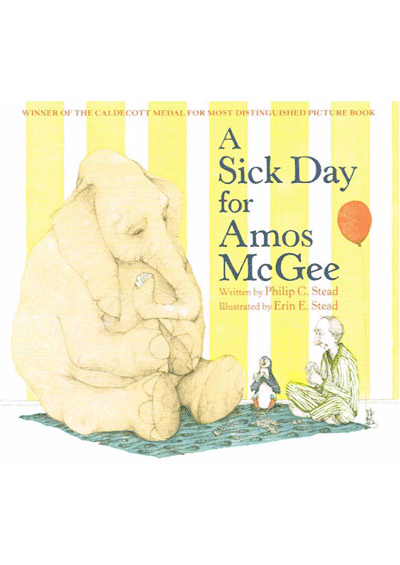 A Sick Day for Amos McGee Cover