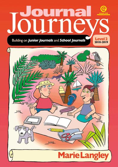 Journal Journeys, Level 2, 2018-2019 Cover