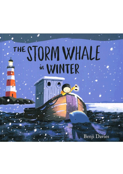 Storm Whale in the Winter Cover