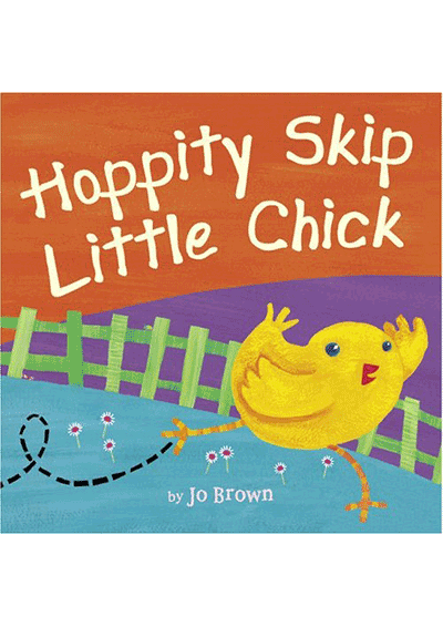 Hoppity Skip Little Chick Cover