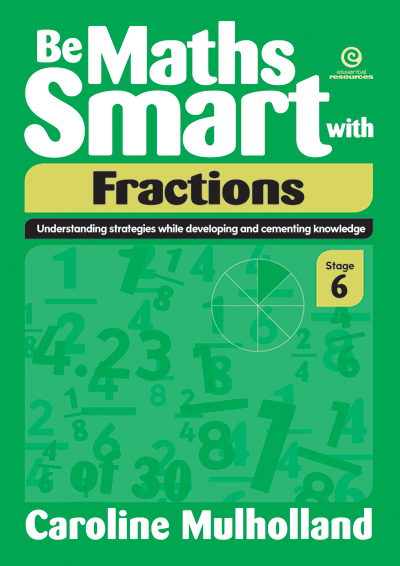 Be Maths Smart with Fractions, Stage 6 Cover