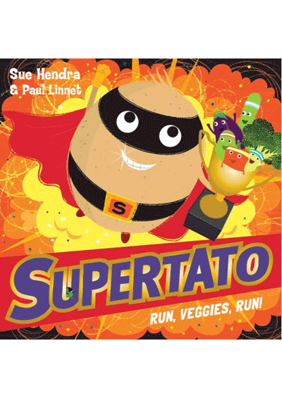 Supertato Run Veggies Run Cover