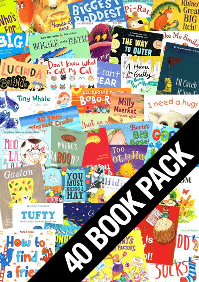 Forty Picture Book Variety Pack Cover