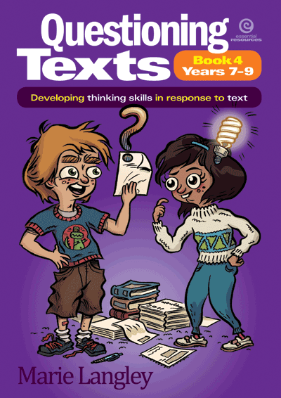 Questioning Texts Bk 4 Yrs 7-9 Cover
