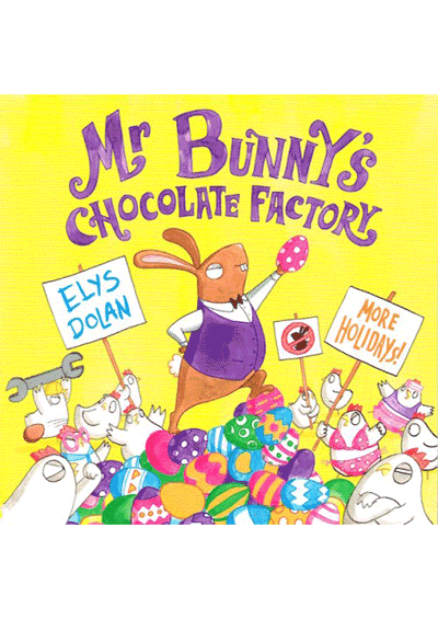 Mr Bunny's Chocolate Factory Cover