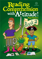 Reading Comprehension with Attitude! Bk 2