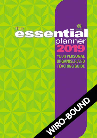 The Essential Planner 2019 Wiro-bound Cover