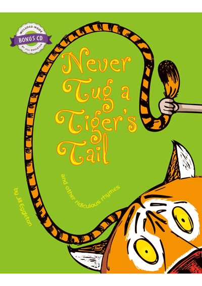 Never Tug a Tigers Tale Cover