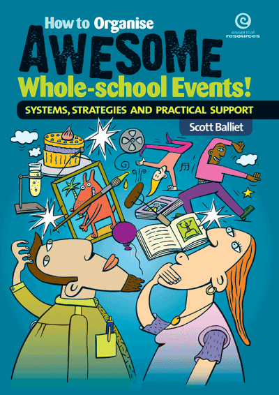 How to Organise Awesome Whole-school Events! Cover